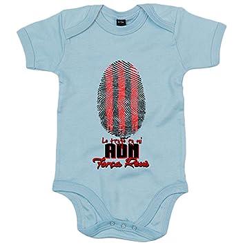 Body bebé lo tengo en mi ADN Reus fútbol - Blanco, 6-12 ...