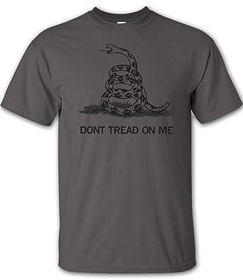 Charcoal Don't Tread On Me T-Shirt - 4XL