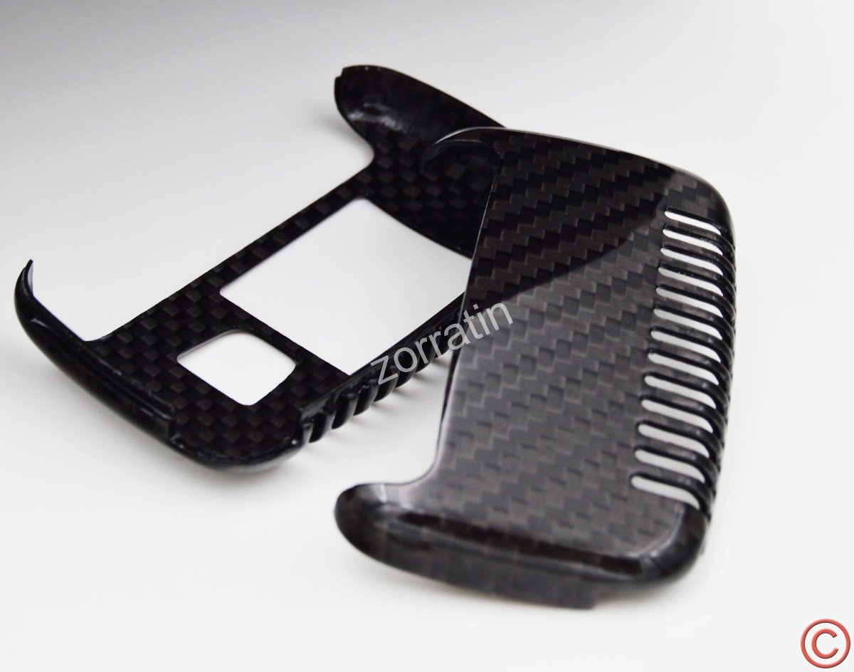 Be sure check fitment before you buy Zorratin 100/% Real Pure Carbon Fiber CF Keyless Key Case Cover Shell for Range Rover Evoque Vogue Discovery