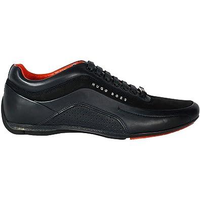 Chaussures De Sport À Bas Hugo Boss Noir 7zddJC9P