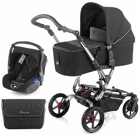 Jane Crosswalk Micro carrito de bebé (negro)