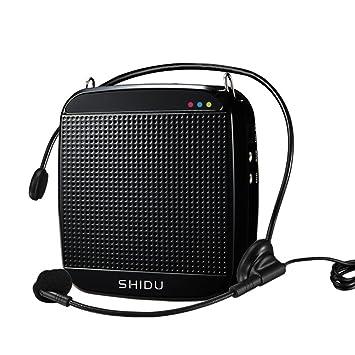 Portatil digital amplificadors de voz con alimentación micrófono para amplificador especial para guía de viajes,