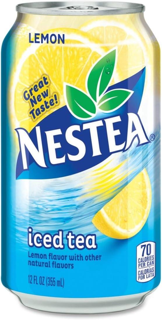Amazon.com: Nestle S.A NLE444222 Nestea Canned Iced Tea Beverage ...