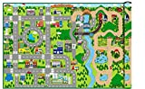 WIPE CLEAN - Giant 172cm x 120cm Kids City Cars Playmat EVA foam Mat (Indoor or Outdoor) by Playlearn
