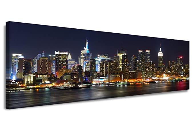 2 opinioni per bestpricepictures 120 x 40 cm quadro su tela New York USA 5715-SCT-