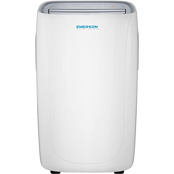 61b973d2 Amazon.com: Emerson Quiet Kool Heat/Cool Portable Air Conditioner with  Remote Control, 14000 BTU Standard, White: Home & Kitchen