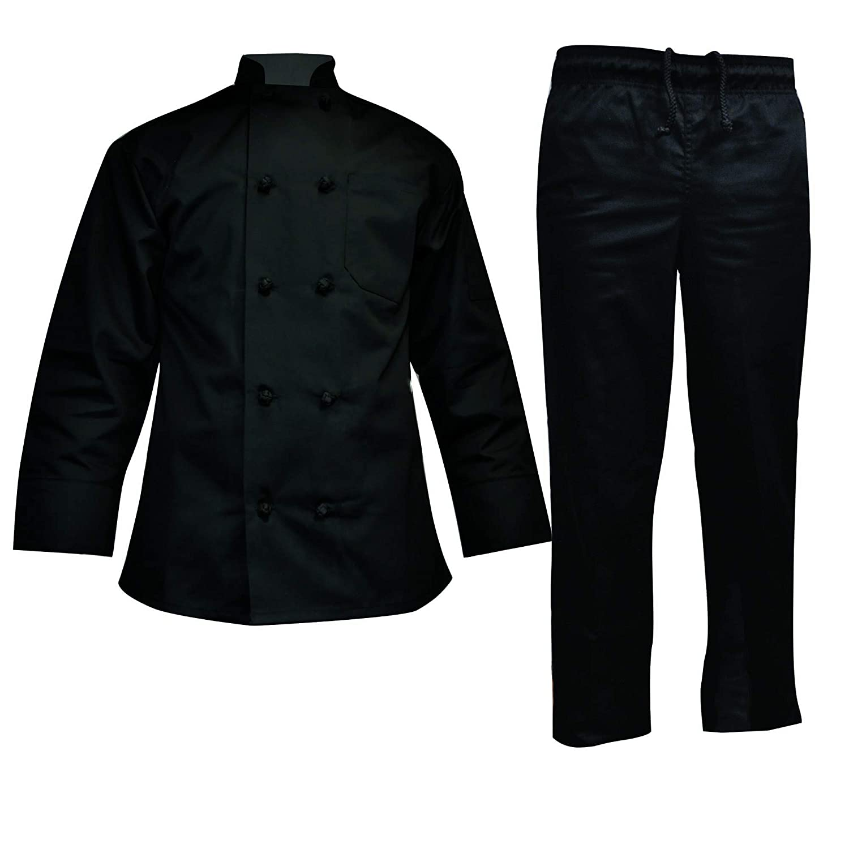 Chef Uniform Set - Chef Coat Pants
