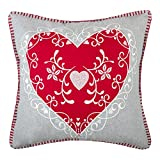 Best Decors For Lounge Cars - JWH JW Embroidered Accent Pillow Cases Wool Decorative Review