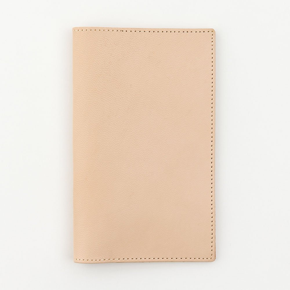 [Midori] MD series notebook jacket H187~W235mm made of goat skin by Phil design