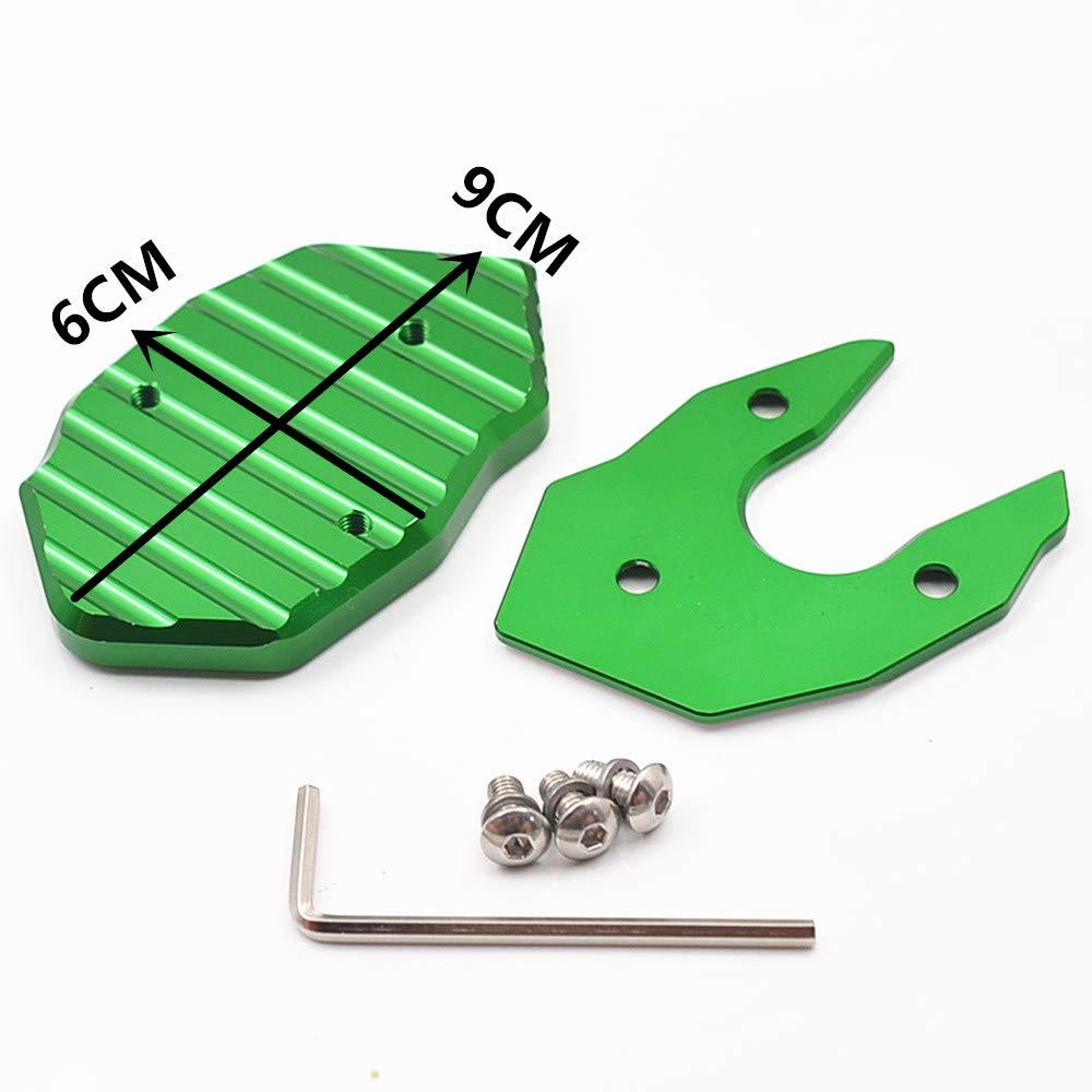 Side Stand Enlarger Extension Pad FOR KAWASAKI Z1000 Z1000SX Z900 Z900RS Z650