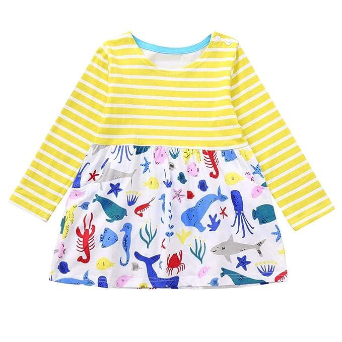 YOYOGO Bebe niña Vestidos Bebe niña Buzo Bebe Ropa de Bebe Ropa de Bebes Ropa niña ...