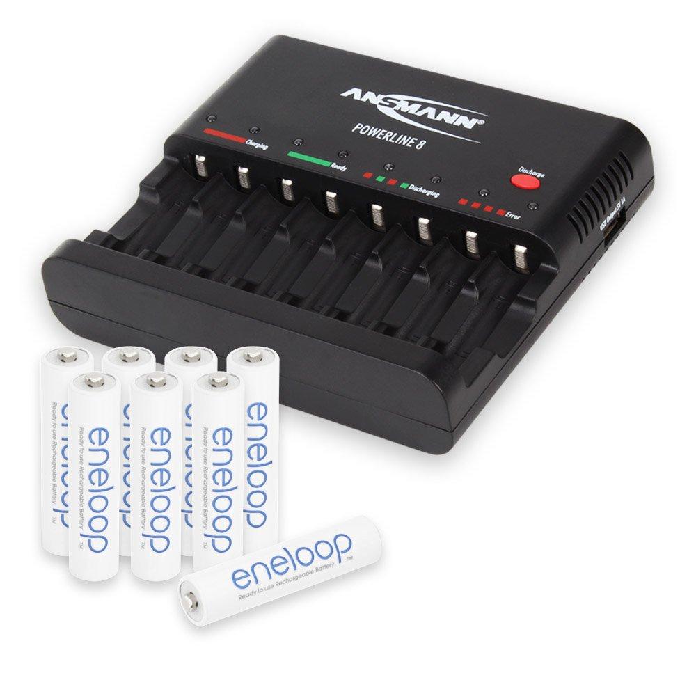incl. 8-Pack AAA Eneloop