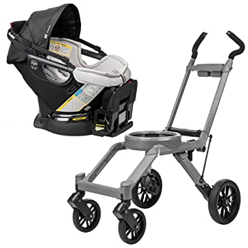 Orbit Baby G3 Stroller Base Grey W Infant Car Seat And