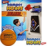 Wham-O Deluxe Electronic Hamper Hoops with 5.5' Foam Basketball