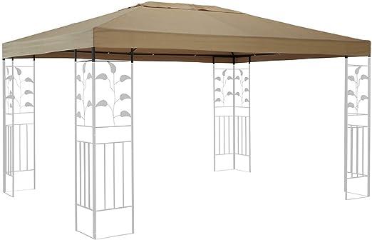 Quick de tejado para Carpa (Star Repuesto para Hojas Cenador (3 x 4 m Arena para Almohada: Amazon.es: Jardín