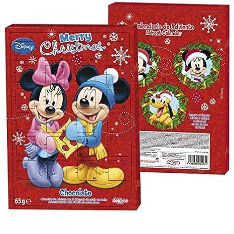 Calendrier De L Avent Minnie.Disney Mickey Et Minnie Calendrier De L Avent Rempli De