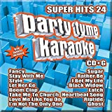 Party Tyme Karaoke - Super Hits 24 [16-song CD+G]
