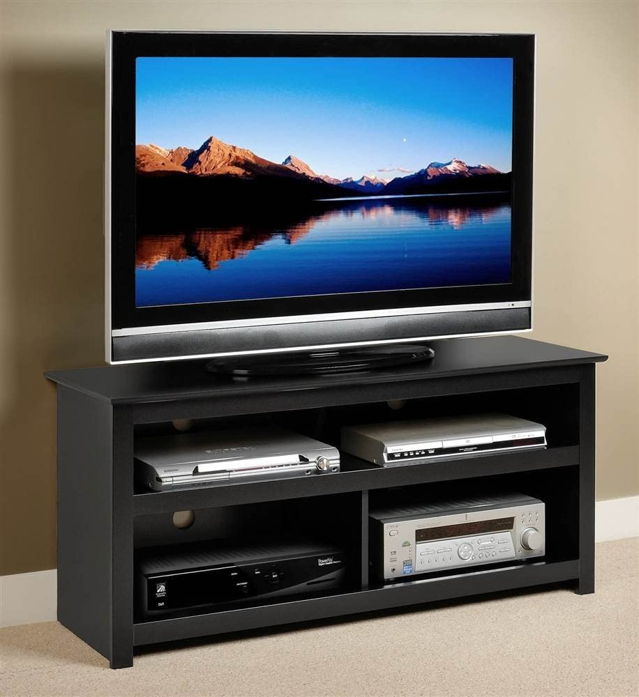 7. Vasari Flat Panel TV Console – Best With Electric Fireplace