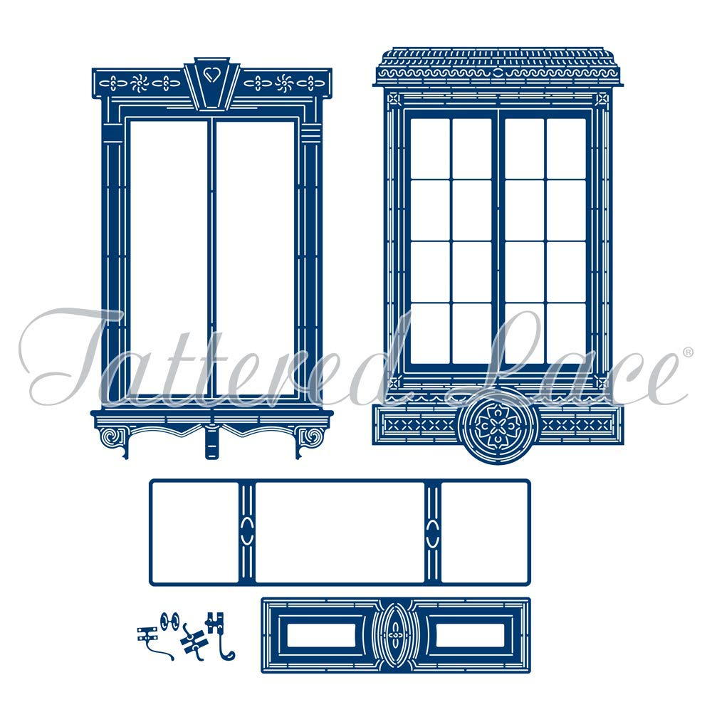 Tattered Lace Interchangeable Window Georgian Sash & Bevel English 443691