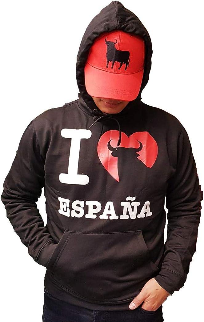 TORO Sudadera I Love ESPAÑA: Amazon.es: Ropa y accesorios