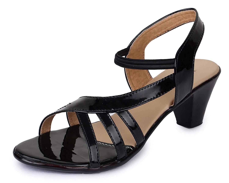 TRASE Amber Black Sandal for Women-7 IND/UK (B07MB26VJH) Amazon Price History, Amazon Price Tracker