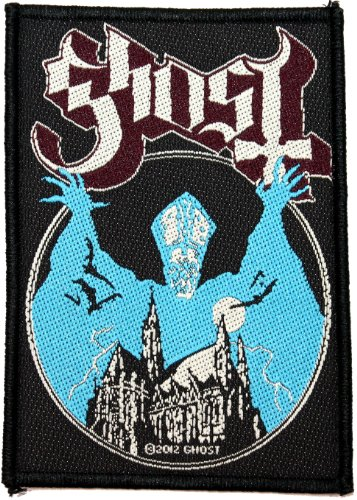 Ghost B.C. Opus Eponymous Album Cover Art Metal Band Woven Sew On Applique Patch ()