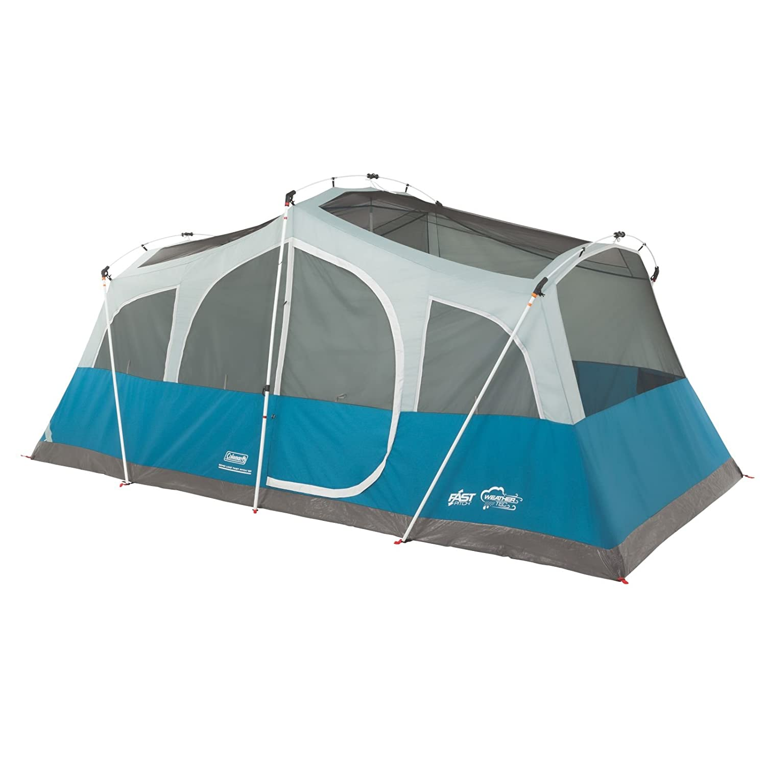 Amazon.com  Coleman Echo Lake 8 Person Fast Pitch Cabin with Cabinets  Sports u0026 Outdoors  sc 1 st  Amazon.com & Amazon.com : Coleman Echo Lake 8 Person Fast Pitch Cabin with ...