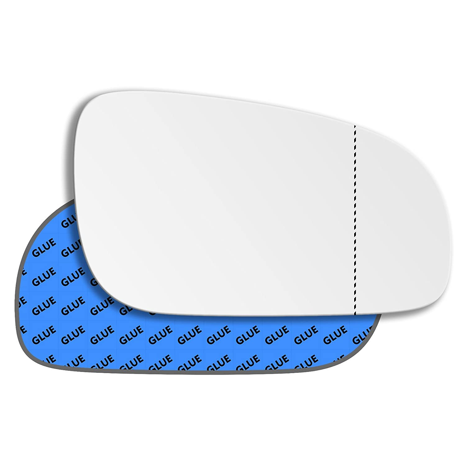 Hightecpl 37RAS Right Hand Driver Off Side Wide Angle Wing Mirror Glass Replacement