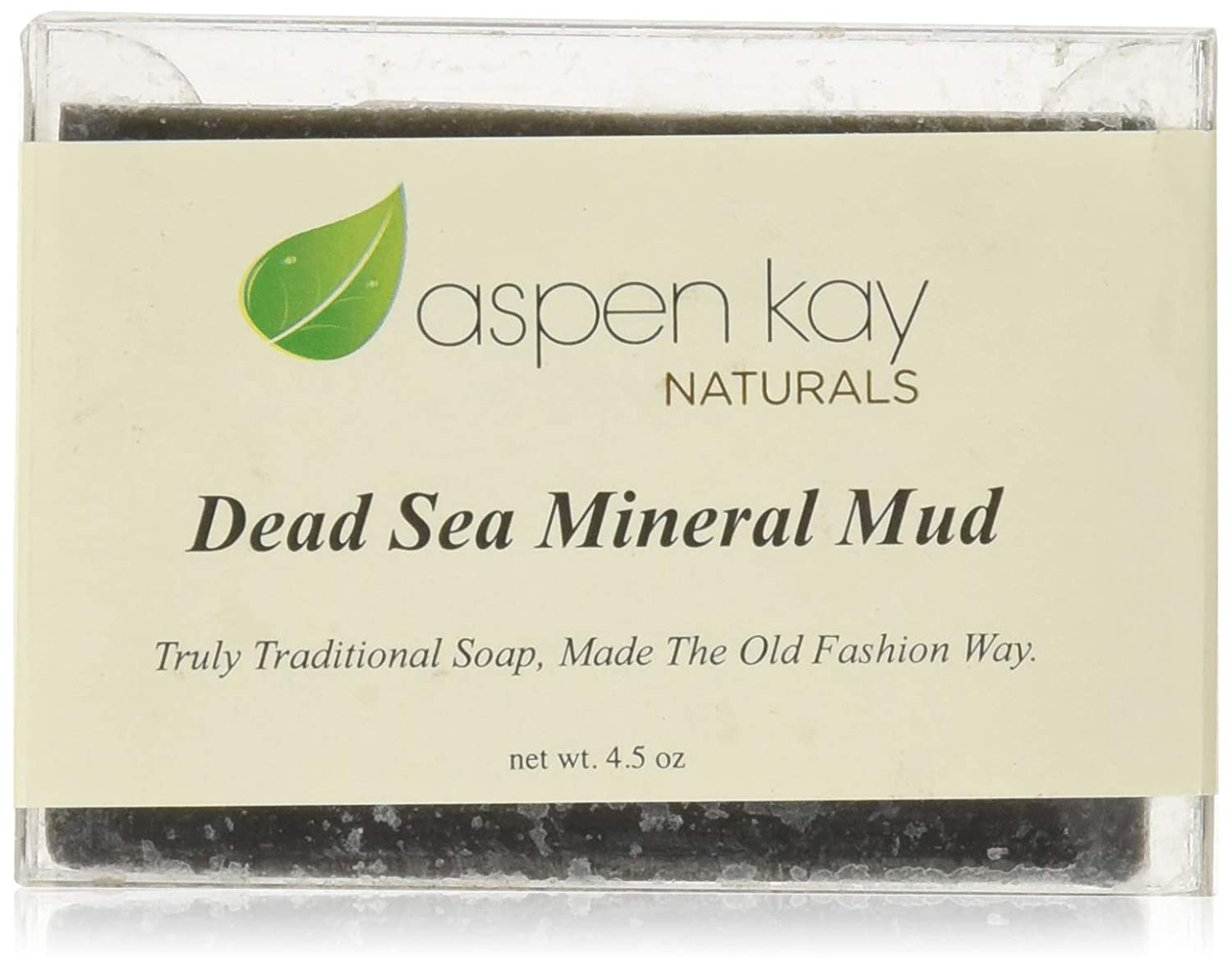 Dead Sea Mud Soap Bar 100% Organic & Natural. With Activated Charcoal & Therapeutic Grade Essential Oils. Face Soap or Body Soap. For Men, Women & Teens. Chemical Free. 4.5oz Bar Aspen Kay Naturals