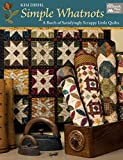 quilting and patchwork books - Simple Whatnots: A Batch of Satisfyingly Scrappy Little Quilts