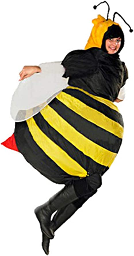 LOVEPET Disfraz De Abeja Inflable Cosplay Adulto De Halloween ...