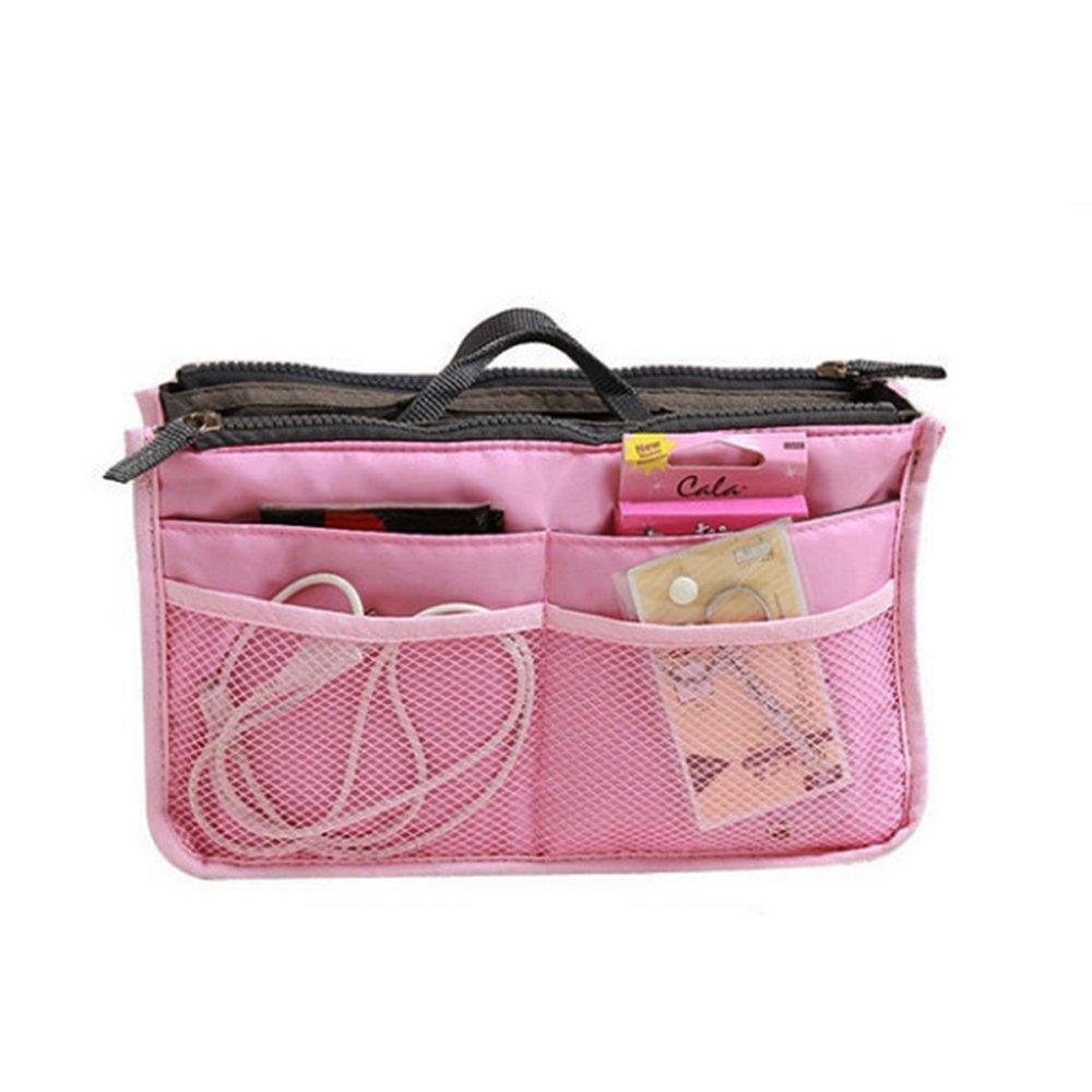 Multifunktional Damen Reise Handtaschen Organisator Tragbar Kosmetiktasche Organizer Einf/ügen Gro/ßer Liner Aufger/äumte Tasche Make-Up Etuis von RuiChy