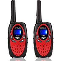 2-Pack Retevis RT628 22 Channel Kids Walkie Talkies (Red)