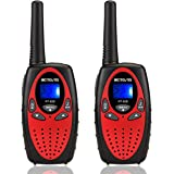 Retevis RT628 Walkie Talkies for Kids,22 Channel kids Walkie Talkies Toys,Long Range 2 Way Radio Gift for Boys and Girls…