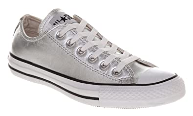 67a9f028488639 ... coupon code for converse all star leather ox low silver metallic 5.5  51765 57c48