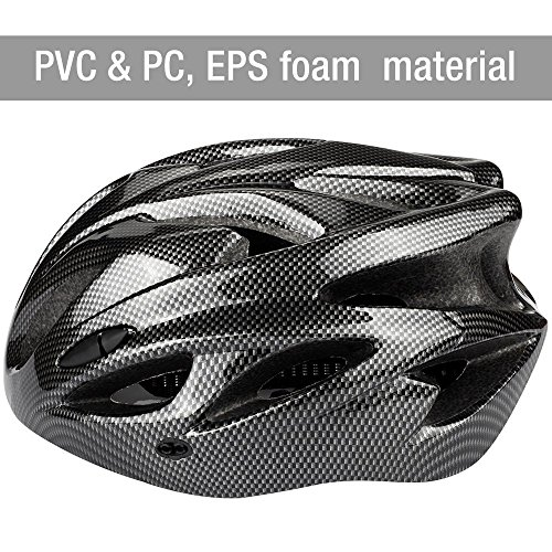 Q-Yuan Lightweight Bike Helmet, CPSC Certified Cycle Helmet Adjustable Thrasher for Adult with Detachable Liner with Water and Dust Resistant Cover by Q-Yuan (Image #2)