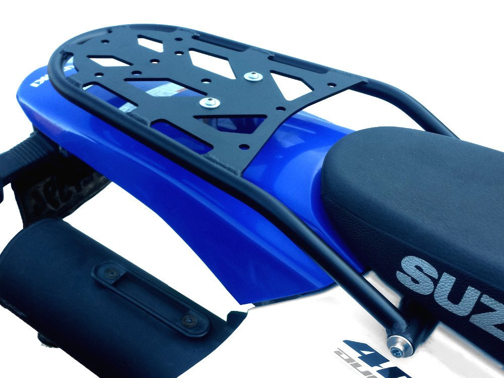 Suzuki DRZ400S/SM and KLX400S ENDURO Series Rear Luggage Rack (All Years) by Precision Motorcycle Racks