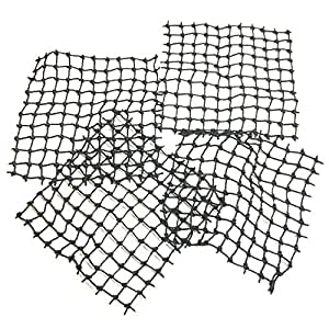 "Lego Parts: Pirates String Nets ""10 x 10 Studs Square"" (Service Pack 71155 - 4 Black)"