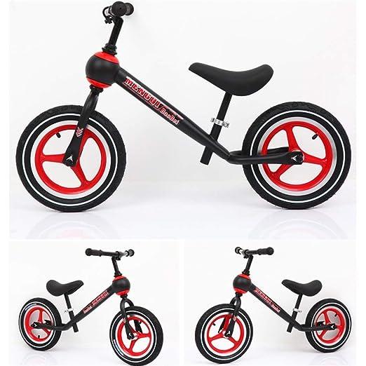 Bicicleta niño Bicicleta para niños en equilibrio 12 pulgadas ...