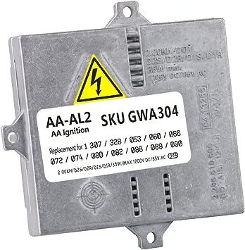FEXON HID Xenon Ballast Headlight Control Unit Module Replacement for BMW Audi Mercedes Benz VW Volkswagen Land Rover Mini Cooper Mazda 1307329082 1 307 329 066 1307329092 1 307 329 087