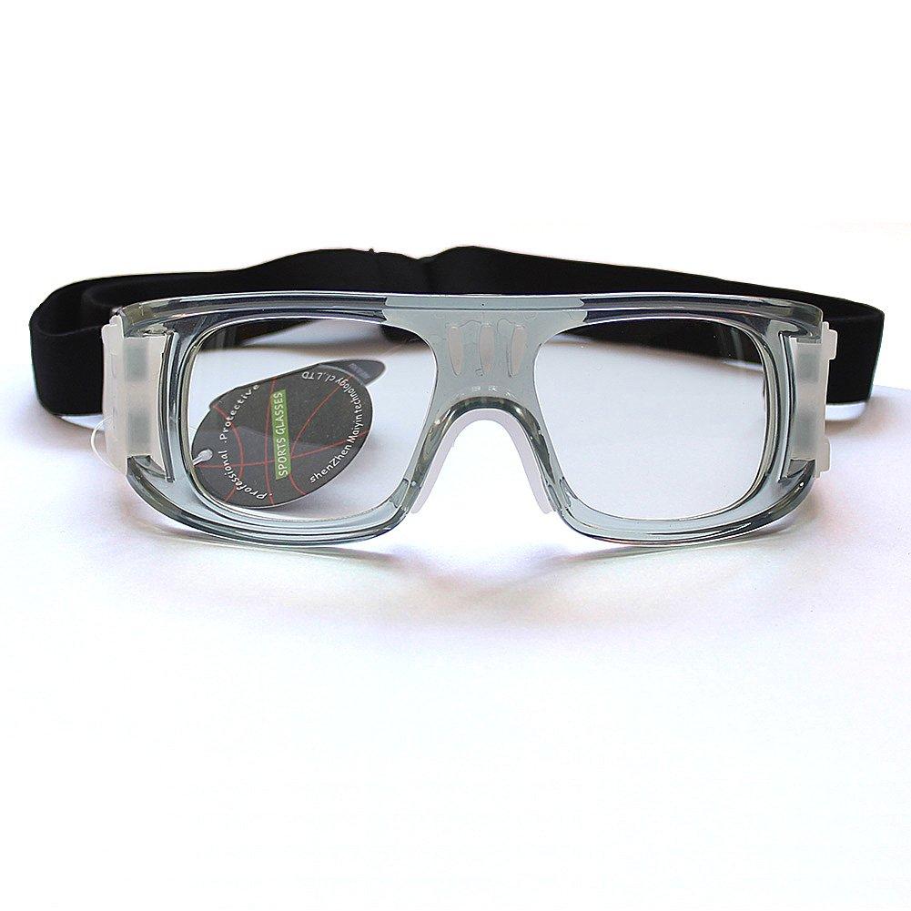 5a88967406 Amazon.com   Basketball Soccer Protective Glasses Men Women Outdoor Sports  Goggles No Prescription Lenses   Sports   Outdoors