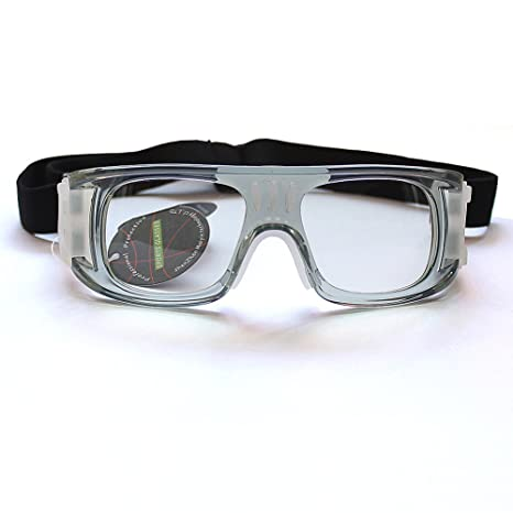7d4276acaf Image Unavailable. Image not available for. Color  Basketball Soccer  Protective Glasses Men Women Outdoor Sports Goggles No Prescription Lenses