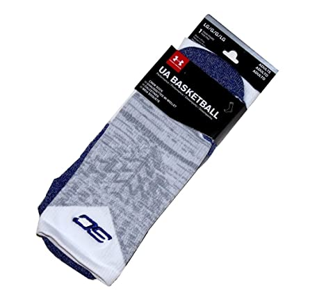 Under Armour Mens SC30 Drive Crew Socks Size Large