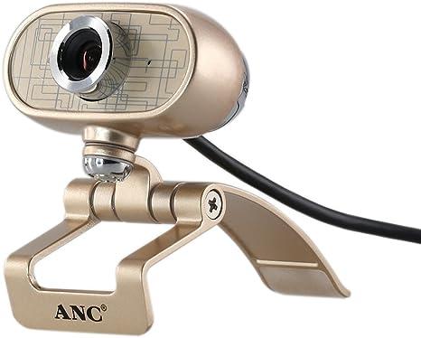 KKmoon Aoni Anc HD Webcam Cámara USB alta definición 1920 x 1080 Cámara Web con micrófono para Smart TV PC PC computadora ordenador portátil Desktop: Amazon.es: Electrónica