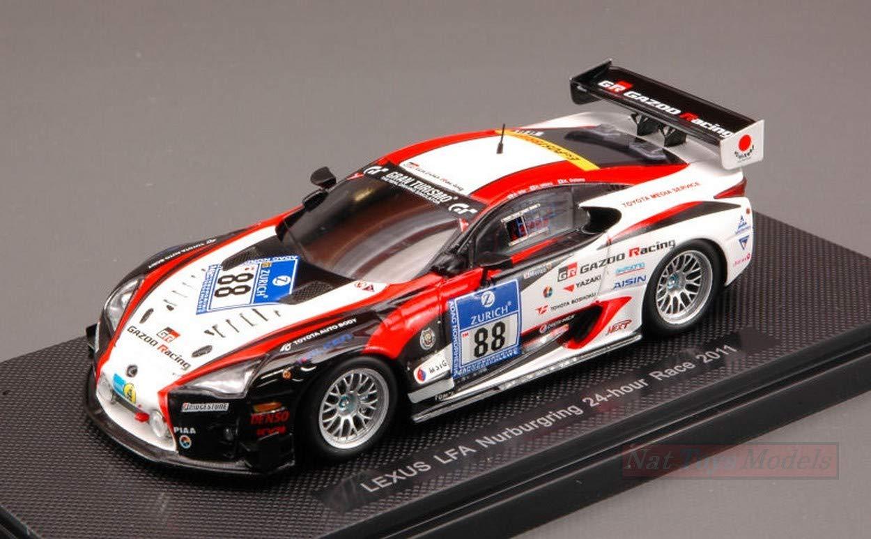 Ebbro EB44635 Lexus LFA N.88 24 H Nurburgring 2011 1:43 MODELLINO Die Cast Model