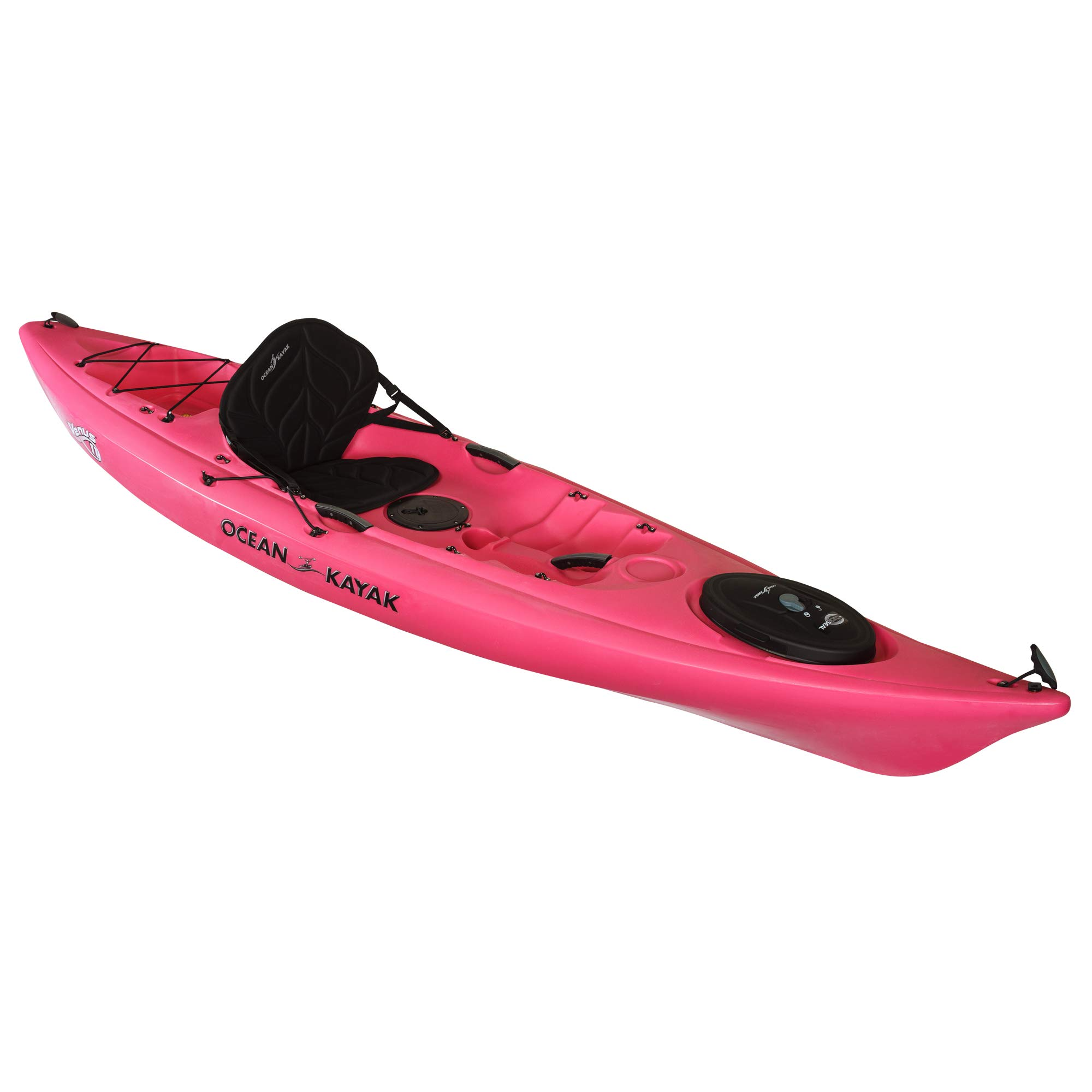 Ocean Kayak Venus 11 One-Person Women's Sit-On-Top Kayak, Fuchsia, 10 Feet 8 Inches