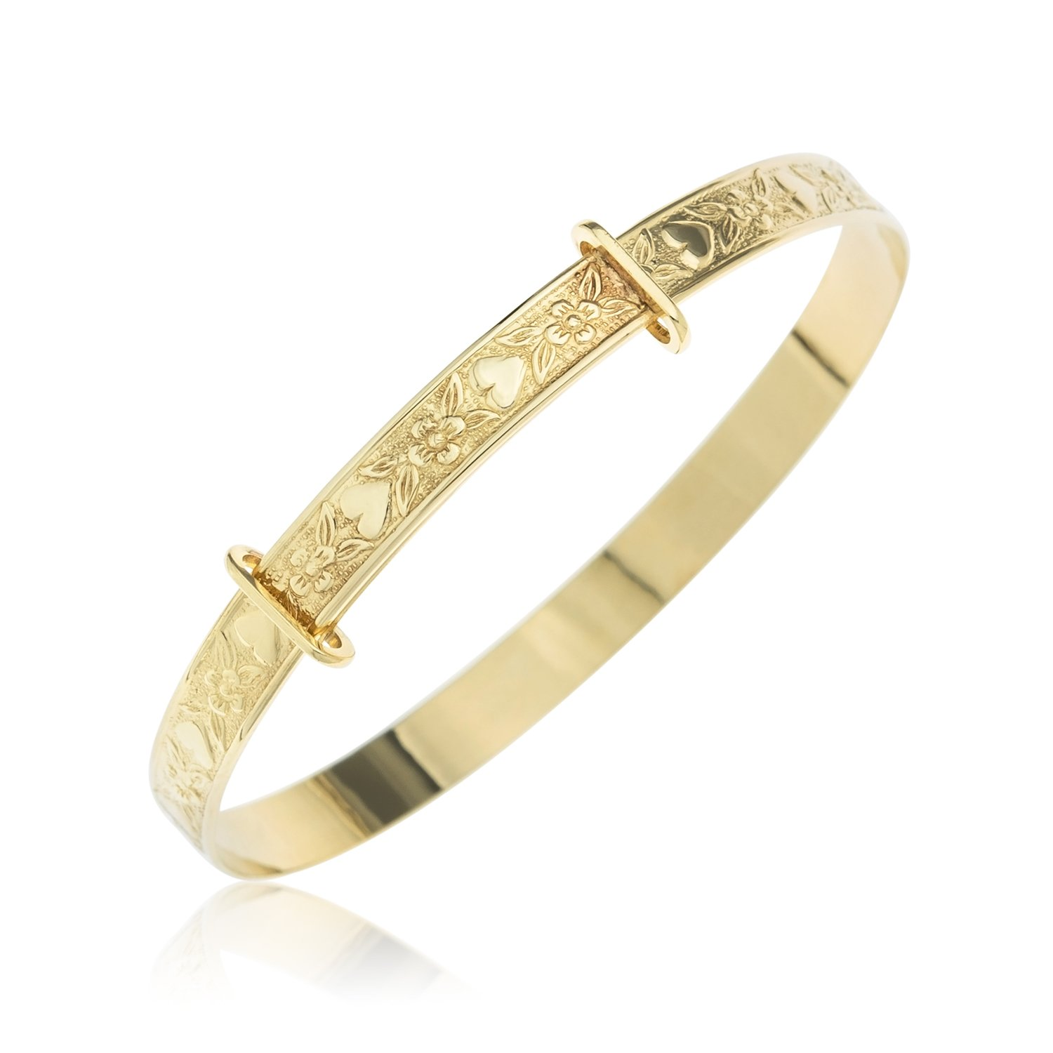 gold bangle children dp ornami yellow ct jewellery bangles uk amazon expander childrens co s glamour