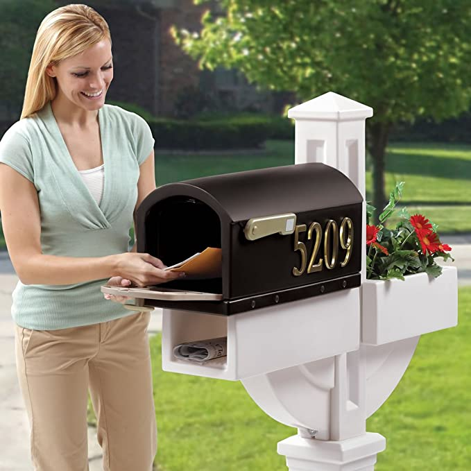 Amazon Com Step2 Mailmaster Hudson Mailbox With Planter Toilet