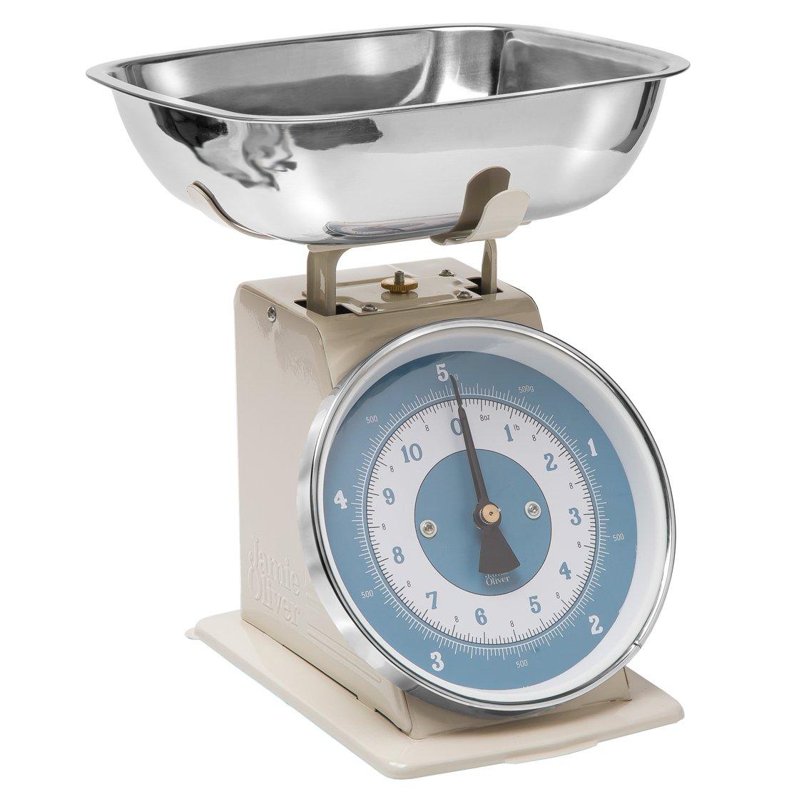 Duck Egg Blue Kitchen Utensils Jamie Oliver Jc4301 Old School Cream Scales Amazoncouk Kitchen