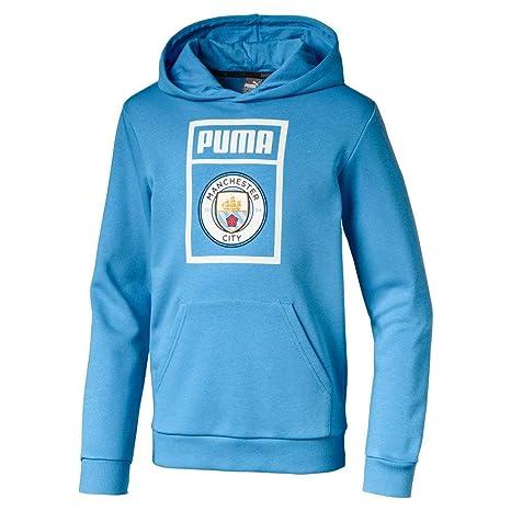 Acquista PUMA Manchester City FC Felpa Sportiva Junior in